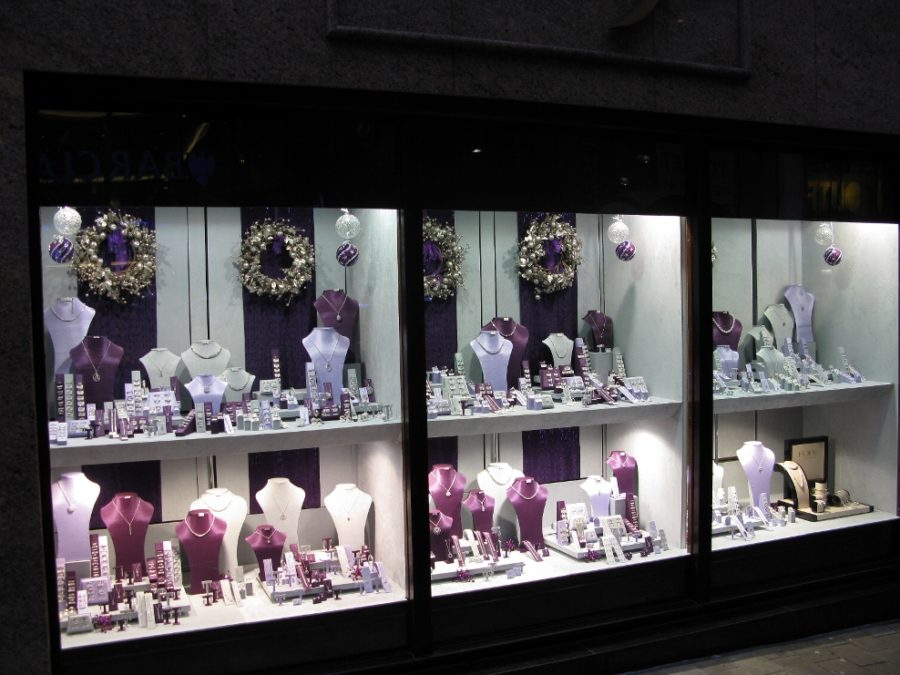 Prize Winning Jewellery Display Window