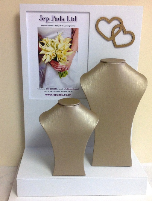 Gold Textured Strio Busts
